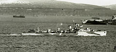 Firedrake on the Clyde 1942.