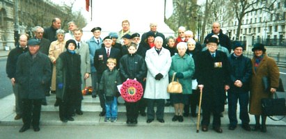 At the Cenotaph 16.12.2001