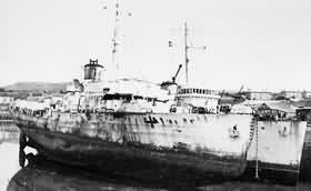 HMS Sunflower 1947