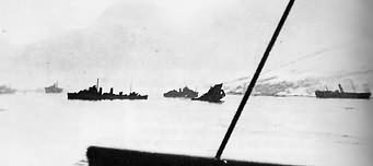 """F"" Class destroyers at the second battle of Narvik."