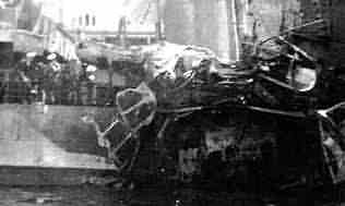Damage made by the 500 Kilo bomb